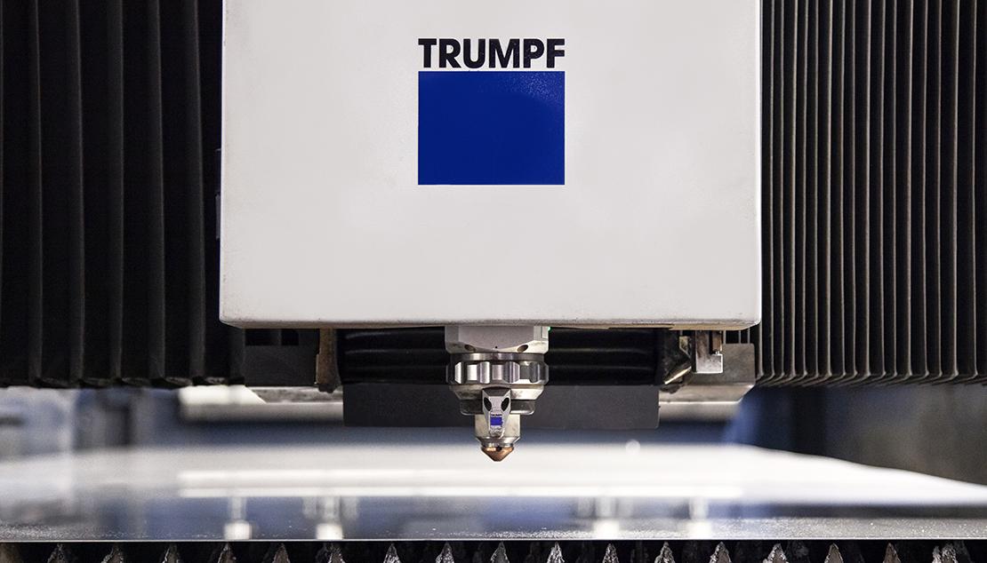 lasersnijden trumpf machine detail